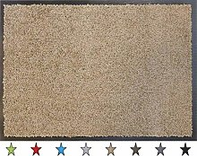 oKu-Tex Eco-Clean Door Mat Runner Taupe 90 x 120 cm