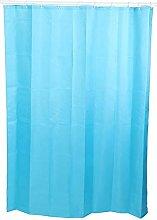 Okuyonic Polyester Fabric Bath Curtain Bathroom