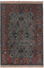 Old Bid Green Persian Carpet