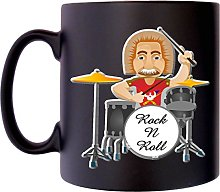Old Drummer Rock Music Musician Klassek Coffee Tea