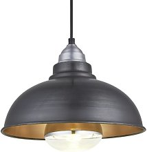 Old Factory 1 - Light Dome Pendant Industville