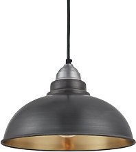 Old Factory 1-Light Dome Pendant Industville