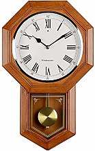 Old-fashioned wall clock Battery operated Quartz