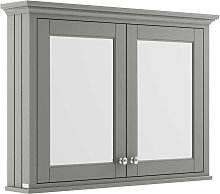 Old London Mirrored Bathroom Cabinet 1050mm Wide -