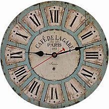 Old Oak 14-Inch Vintage Decorative Wall Clock