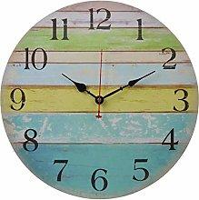 Old Oak 16-Inch Large Beach Wall Clock Decorative