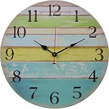 Old Oak 16-Inch Large Beach Wall Clock Decorative