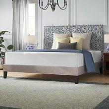 Olea Upholstered Platform Bed Hashtag Home