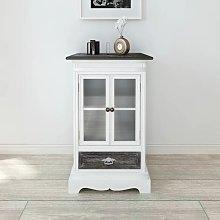 Olga Display Cabinet by Bloomsbury Market - White