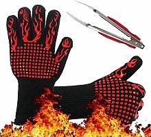 Olgaa BBQ Grill Gloves Set 1472¨HExtreme Heat