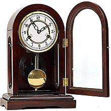 Olid Wood Shelf Clock Vintage Pendulum Shelf Clock