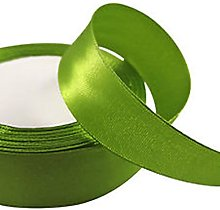 Olive Green Satin Ribbon - 50mm Wide - 5 Meter -