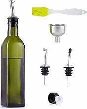 Olive Oil Bottle Drizzler for Kitchen, 500ml Olive