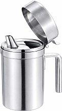 Olive Oil Can Stainless Steel Oil Dispenser Pot,
