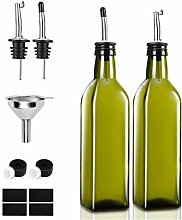 Olive Oil Dispenser Bottle 2PCS 250ML Spout