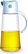 Olive Oil Dispenser Bottle with Automatic Stopper,