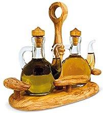 Olive Oil Seasoning Set Oil Vinegar Salt Pepper