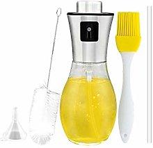 Olive Oil Sprayer, 200ml Food Grade Oil Dispenser