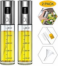 Olive Oil Sprayer Bottle Oil Dispenser with Scale