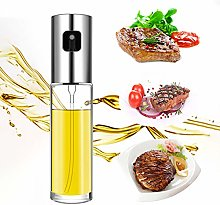 Olive Oil Sprayer Dispenser, 100ml Stainless Steel