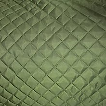 Olive Quilted Fabric Lining 2IN Box Material Dress