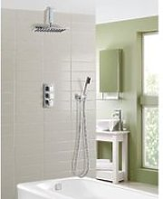 Olive Square 3 Way Concealed Thermostatic Mixer