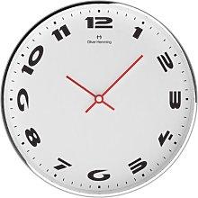 Oliver Hemming Wall Clock, Silver