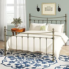 Olivia Bed Frame Lily Manor Size: Kingsize (5')