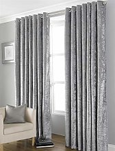Olivia Rocco Blackout Crushed Velvet Curtains