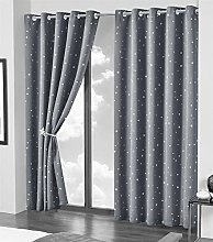 Olivia Rocco Blackout Curtain Pair Glow In The