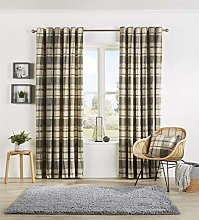 Olivia Rocco Eyelet Curtain Pairs Designer Fully