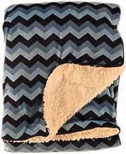 Olivia Rocco Super Soft Baby Blanket Pram Cot Bed