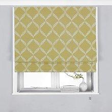 Olivia Roman Blind (36in x 54in) (Citrus Yellow) -
