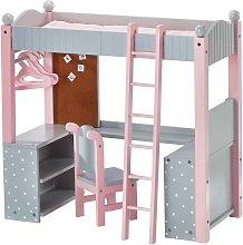 Olivias World Doll Wooden Furniture Polka Dots