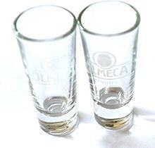 Olmeca Tequila Shot Glasses 25ml Heavy Base