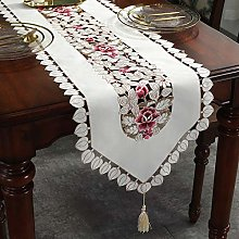OLOEY Modern and simple table runner embroidered