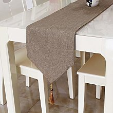 OLOEY Table runner cloth cotton linen solid color