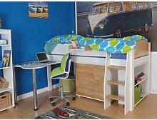 Olson European Single High Sleeper Bed with