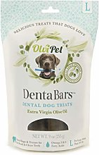 OlviPet Teeth Cleaning Bars Large, Green, One Size