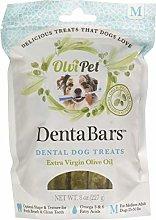 OlviPet Teeth Cleaning Bars Medium, Green, One Size