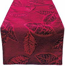 OLYPHAN Red Table Runners 72 Inch Christmas Table