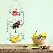 Omabeta Anti-rust Stainless Steel Fruit Basket