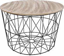Omabeta Modern Home Furniture End Tables Storage