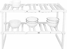 Omabeta Retractable Kitchen Shelf Sink Rack