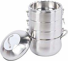 Omabeta Steamer Pot Ergonomic Good Sealing Cooking