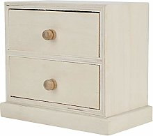 Omabeta Wooden Simple Desktop Storage Box