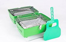 OMAC Charcoal Barbecue Portable Folding Grill