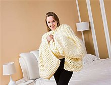 OMAORST Chunky knitted blankets, soft large
