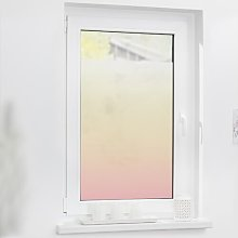 Ombre Window Sticker East Urban Home Colour: Pink,