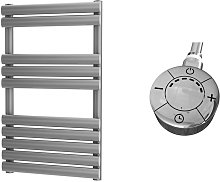 Omega Silver Designer Heated Towel Rails 825mm x